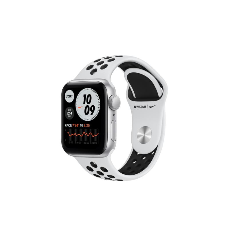 นาฬิกา Apple Watch Nike SE Silver Aluminium case with Nike Sport Band