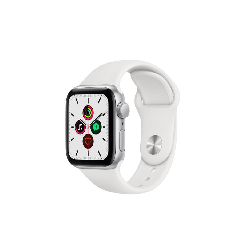 นาฬิกา Apple Watch SE Silver Aluminium Case with Sport Band