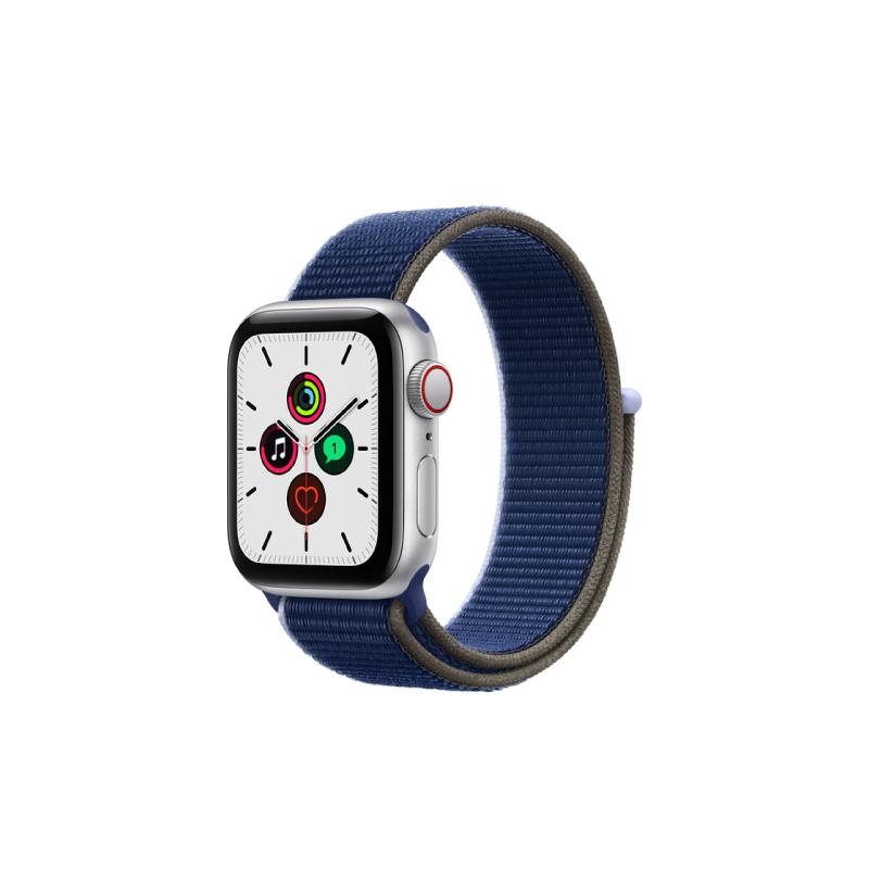 นาฬิกา Apple Watch SE Silver Aluminium Case with Sport Loop