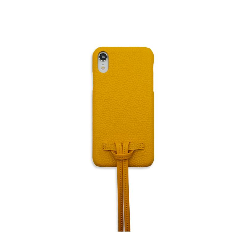 เคส Casetology Genuine Leather Case with Sling iPhone XR