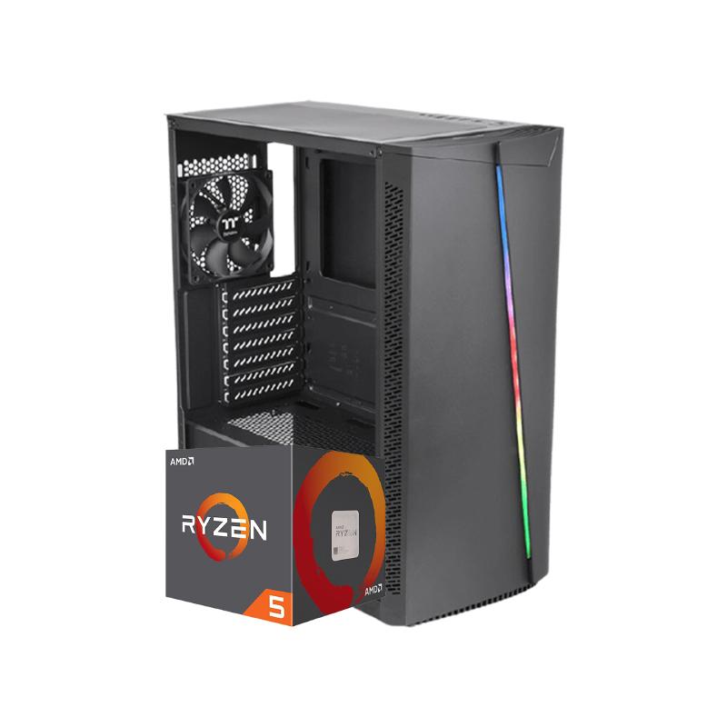 คอมเล่นเกม iHAVECPU Set 16 AMD Ryzen 5 2600 Zotac RTX 2060 6GB RAM 16GB Computer by iHAVECPU