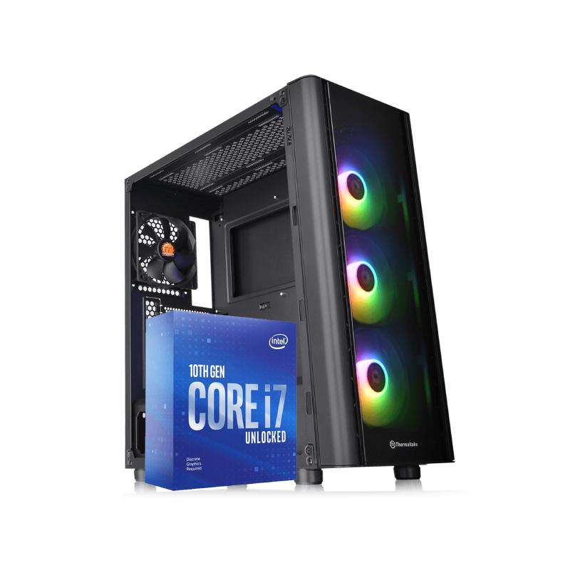 คอมเล่นเกม iHAVECPU Set 17 Intel i7-10700KF Zotac RTX 2060 6GB RAM 16GB Computer by iHAVECPU