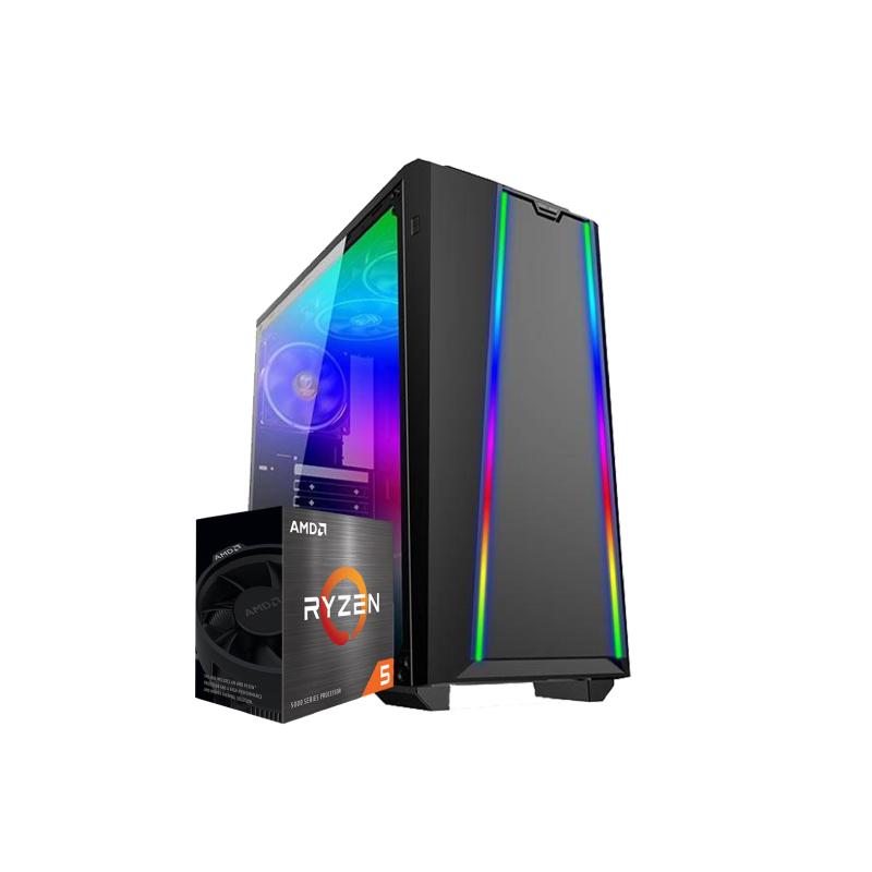 คอมเล่นเกม iHAVECPU Set 20 AMD Ryzen 5 3500 Zotac GTX 1050Ti 4GB RAM 8GB Computer by iHAVECPU