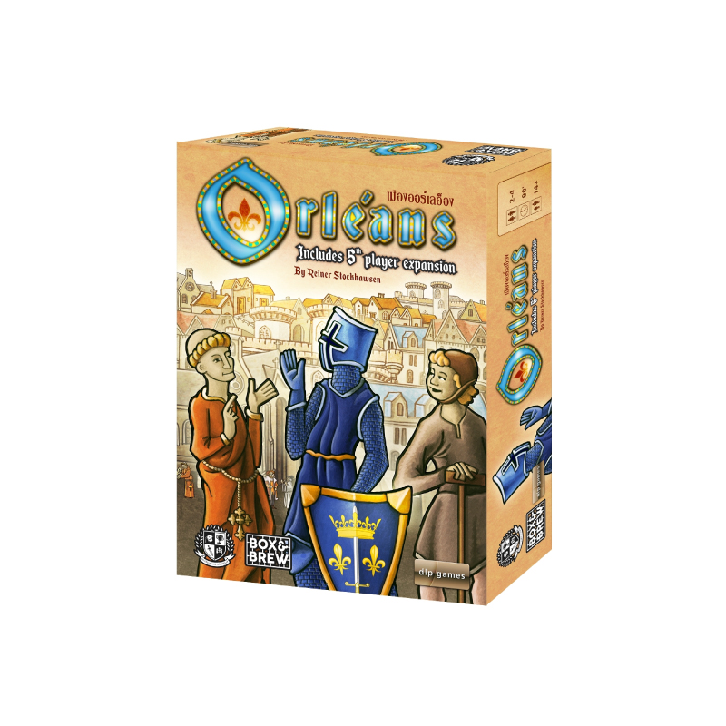 (Pre-Order) บอร์ดเกม Orléans เมืองออร์เลอ็อง Board Game  ภาคหลัก+ภาคเสริม