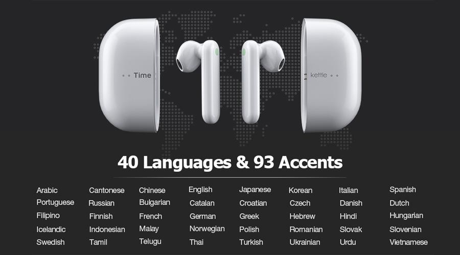 หูฟังแปลภาษา Timekettle M2 Translator Earbuds ราคา