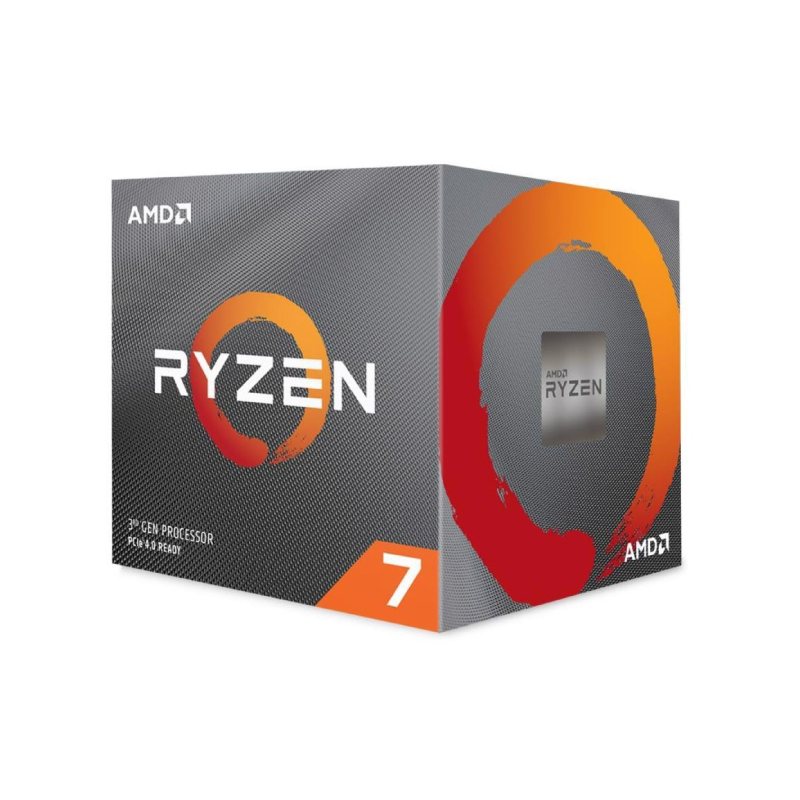 AMD Ryzen 7 3800x With Wraith Prism Cooler CPU