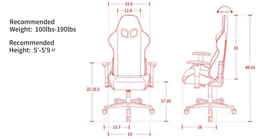 เก้าอี้เล่นเกม DXRacer Nex Gaming Chair ราคา