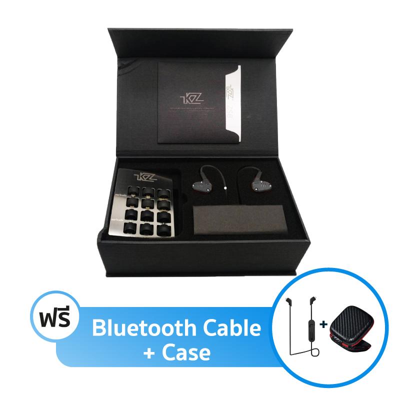 ชุดหูฟัง KZ ZS6 Fullbox + สาย Bluetooth + เคส