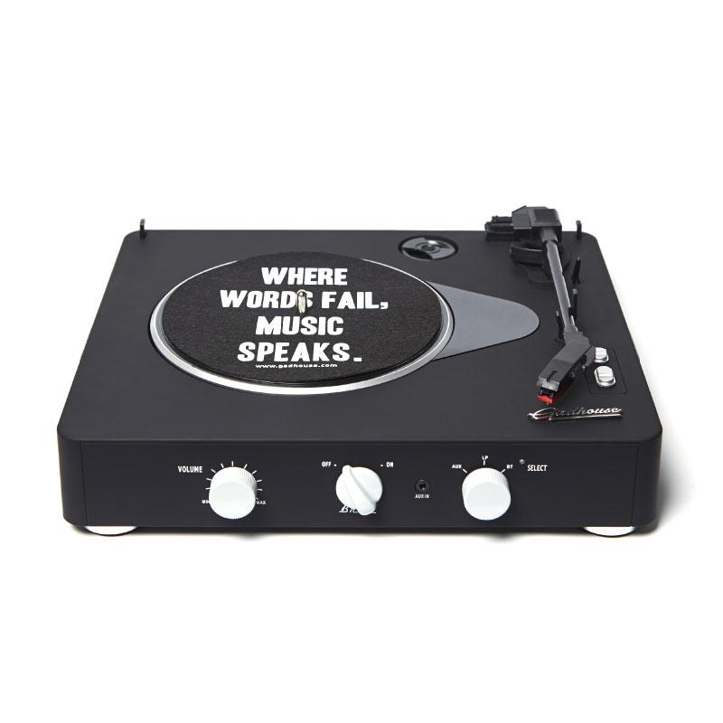 เครื่องเล่นแผ่นเสียง Gadhouse Brad Retro Black Edition