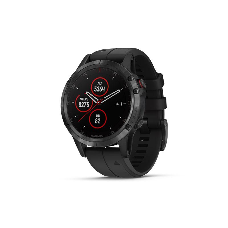 Garmin Fenix 5 Plus Sapphire DLC Carbon Sport Watch