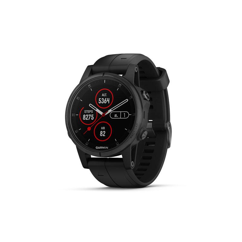 Garmin Fenix 5X Plus Sapphire DLC Carbon Sport Watch