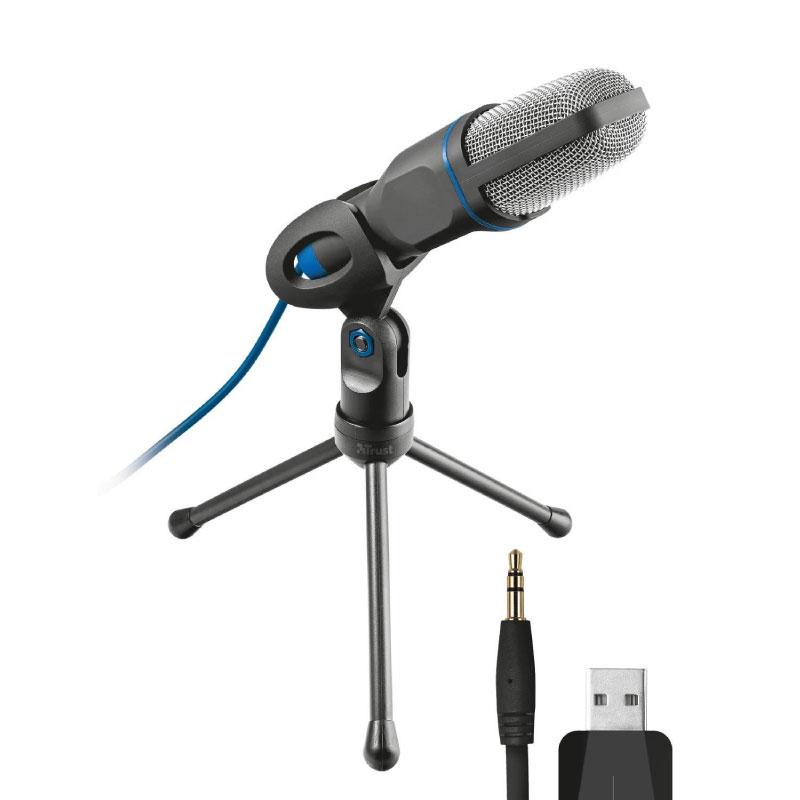 ไมโครโฟน Trust Micro USB Microphone