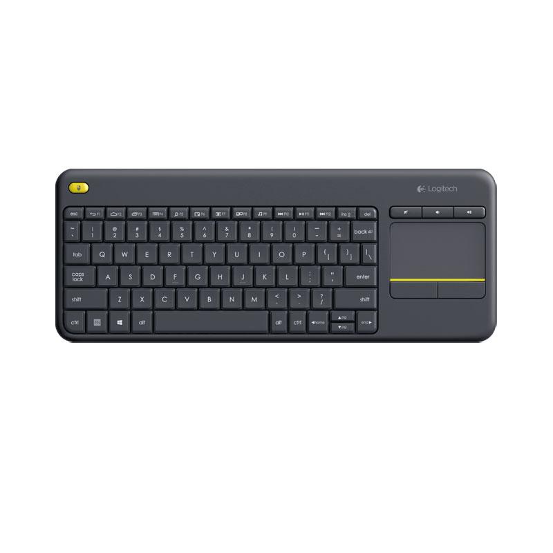 คีย์บอร์ดไร้สาย Logitech K400PLUS Living Room Wireless Keyboard