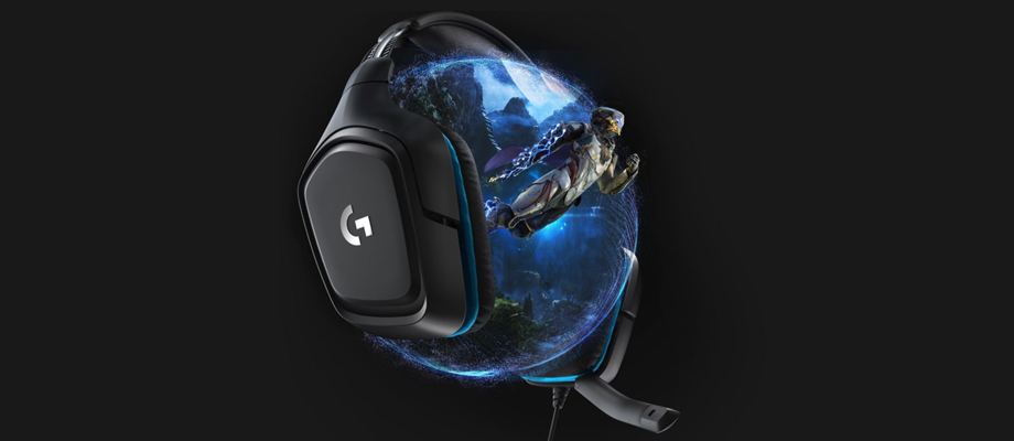 Logitech G431 Gaming headphone จุดเด่น