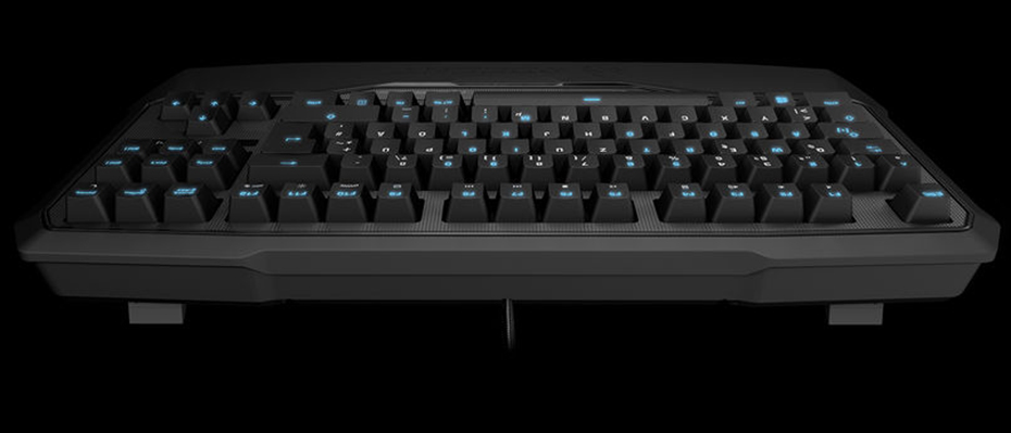 Roccat Ryos TKL Pro MX Red Gaming Mechanical Keyboard