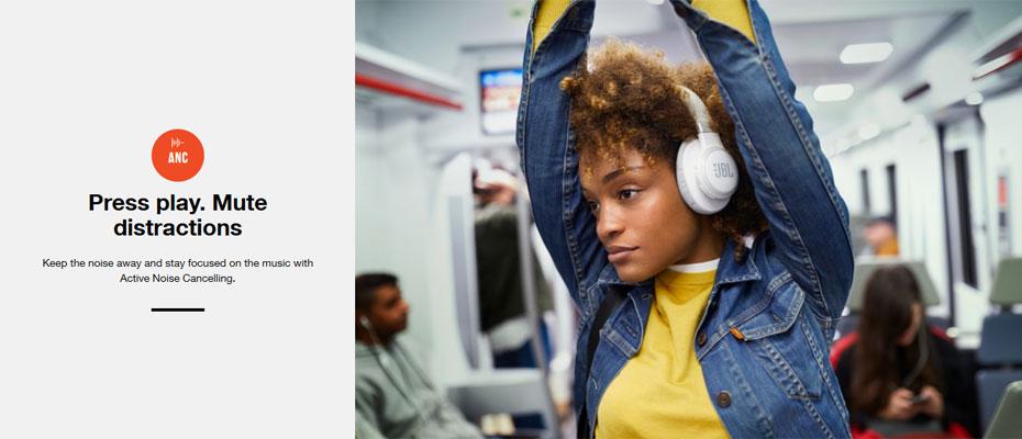 หูฟังไร้สาย JBL Live 650BTNC Wireless Noise Cancelling Headphone ขาย