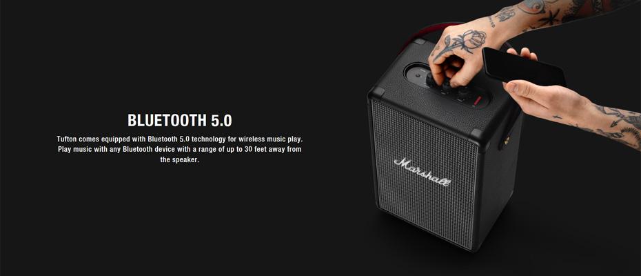 ลำโพง Marshall Tufton Bluetooth Speaker ซื้อ