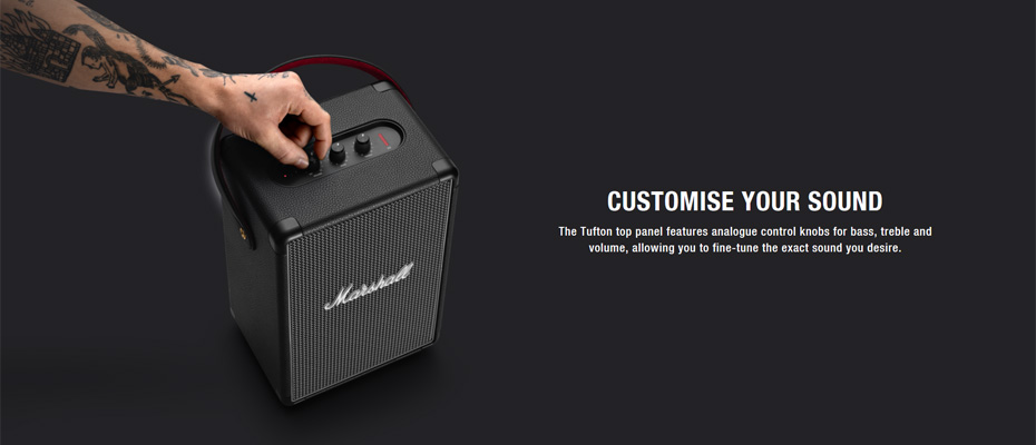 ลำโพง Marshall Tufton Bluetooth Speaker ขาย