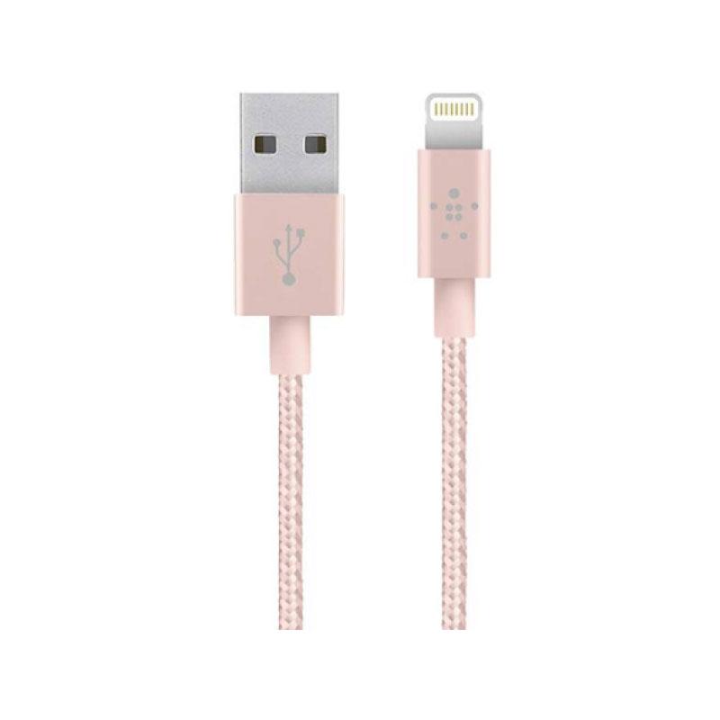 สายชาร์จ Lightning to USB A Metallic Belkin ยาว 1.2 เมตร ราคา