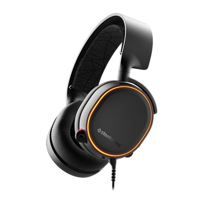 หูฟัง SteelSeries Arctis 5 RGB 7.1 DTS Headphone (2019 Edition)