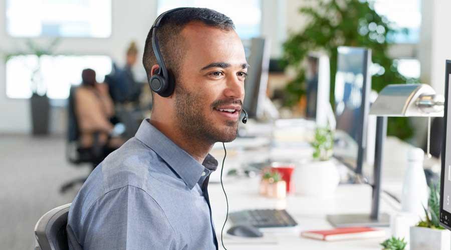 หูฟัง Logitech H370 Headphone Work from Home