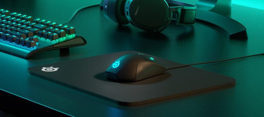 รีวิว แผ่นรองเมาส์ SteelSeries QcK Heavy Mousepad