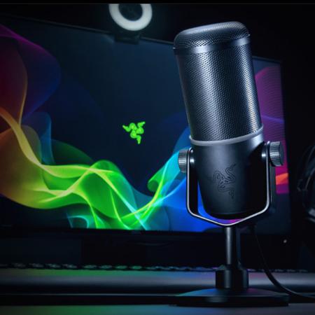 ไมโครโฟน Razer Seiren Elite Microphone รีวิว