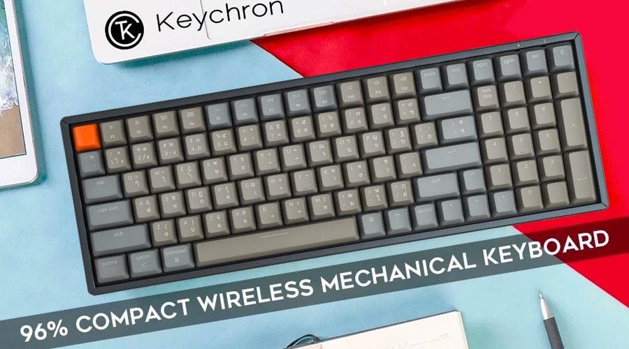 คีย์บอร์ดไร้สาย Keychron K4 Wireless Mechanical Keyboard รีวิว