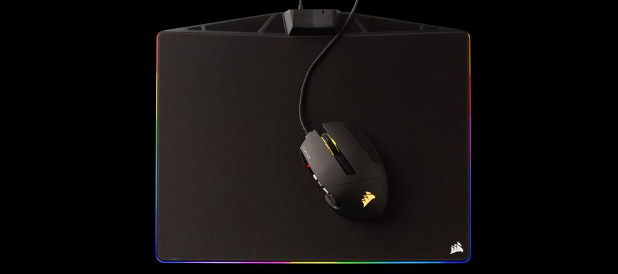 แผ่นรองเมาส์ Corsair MM800 RGB Polaris Mouse Mat รีวิว
