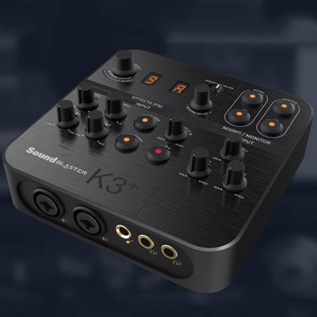 การ์ดเสียง Creative Sound Blaster K3+ External Sound Card รีวิว