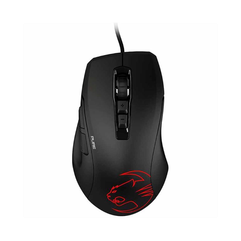 เมาส์ Roccat Kone Pure Owl-Eye Precise optical RGB Gaming Mouse