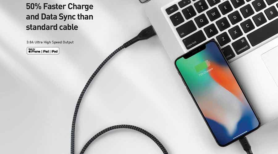 สาย Energea Fibratough Usb-C To Lightning Mfi 1.5M ซื้อ-ขาย
