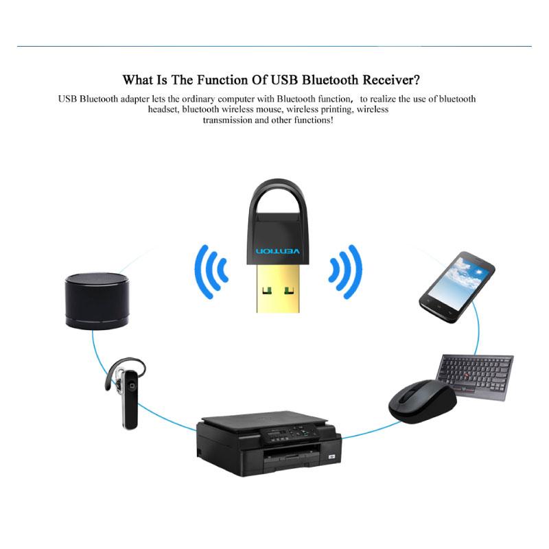 ตัวแปลง Vention USB to Bluetooth4.0 Adapter ราคา