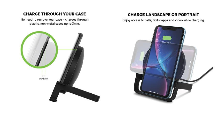 แท่นชาร์จ Belkin Boost Up Wireless Charging Stand (10W) ราคา