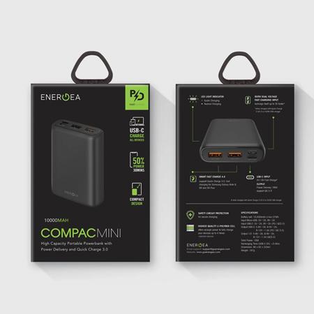แบตเตอรี่สำรอง Energea Compac Pq1201, 10000Mah Pd + Smartfc4.0 ขาย