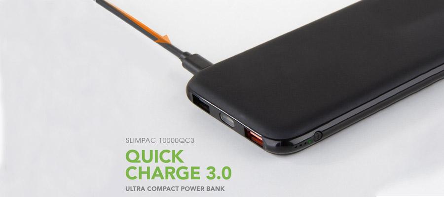 แบตเตอรี่สำรอง Energea Slimpacpq1201, 10000Mah Qc3.0 ราคา