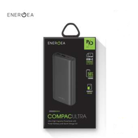 แบตเตอรี่สำรอง Energea Compac Pq2201, 20000Mah Pd + Smartfc4. ซื้อ-ขาย