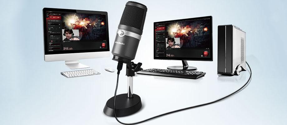 ไมโครโฟน AVerMedia AM310 USB Condenser รีวิว