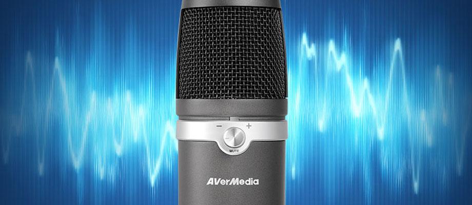 ไมโครโฟน AVerMedia AM310 USB Condenser ราคา