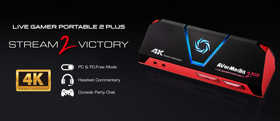 การ์ดจับภาพ AVerMedia Live Gamer Portable 2 Plus External Capture Card รีวิว