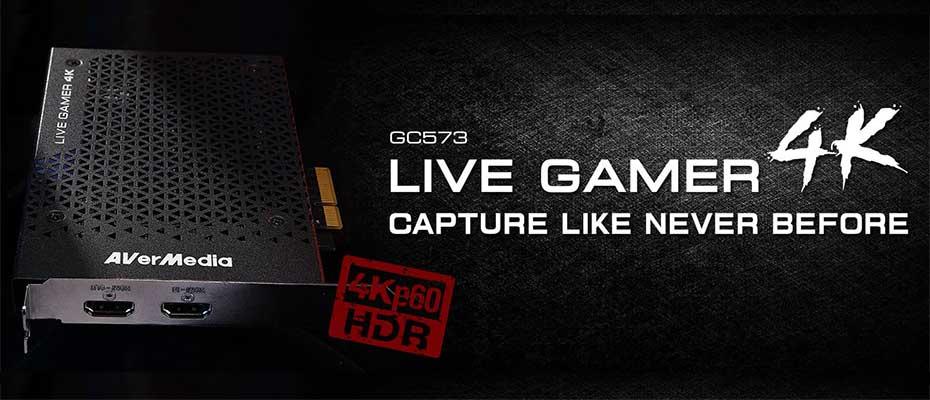 การ์ดจับภาพ AVerMedia Live Gamer 4K