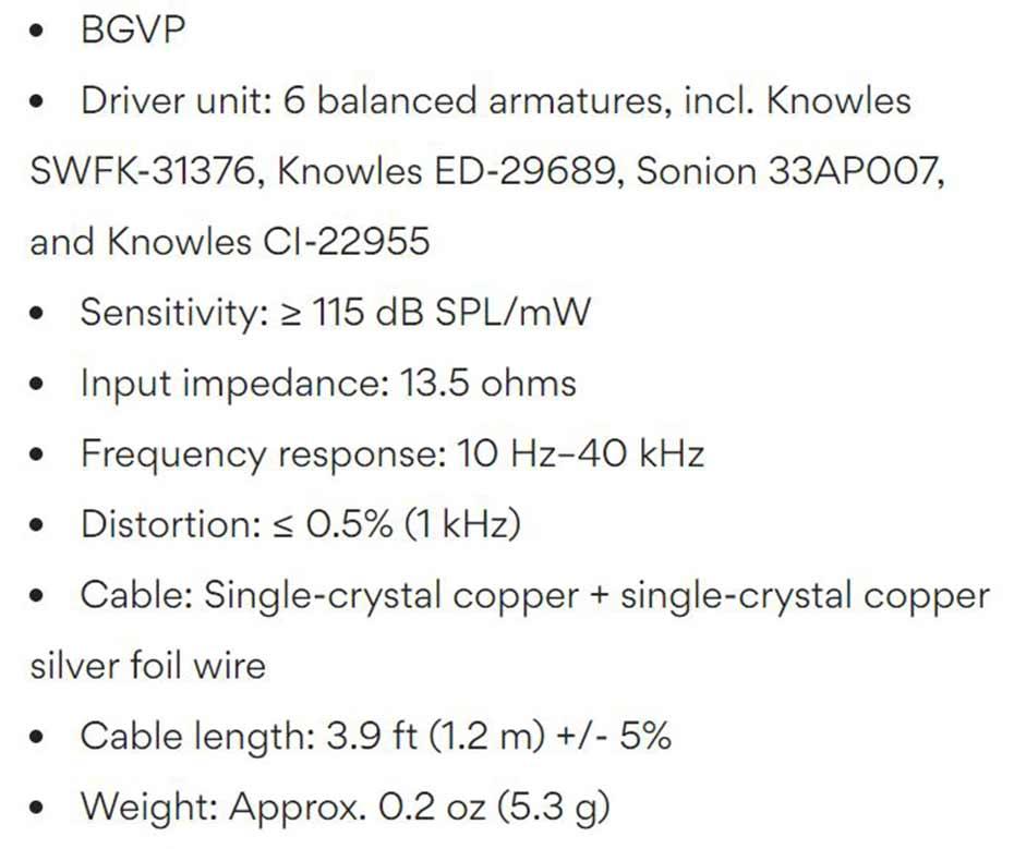 BGVP DM7 In Ear