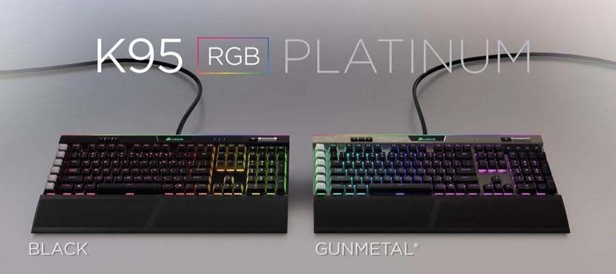 คีย์บอร์ด Corsair K95 RGB Platinum Mechanical Keyboard (TH) รีวิว