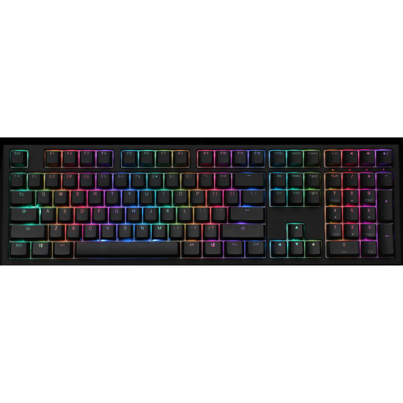 คีย์บอร์ด Ducky Shine 7 Blackout Mechanical Keyboard