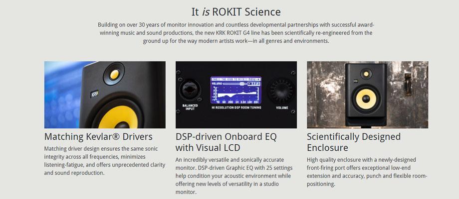 รีวิวลำโพง KRK Rokit RP8G4 Monitor Speaker คะแนน