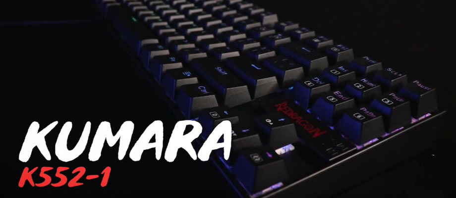 คีย์บอร์ด Redragon RD-K551 Mechanical Keyboard รีวิว