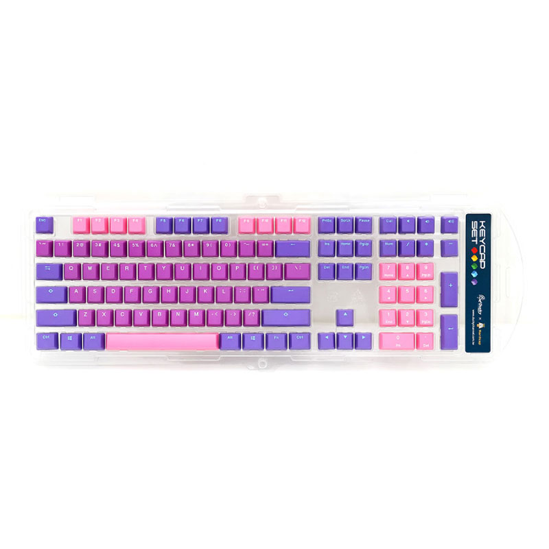 คีย์แคป Ducky PBT Double-Shot Ultra Violet Keycap Set