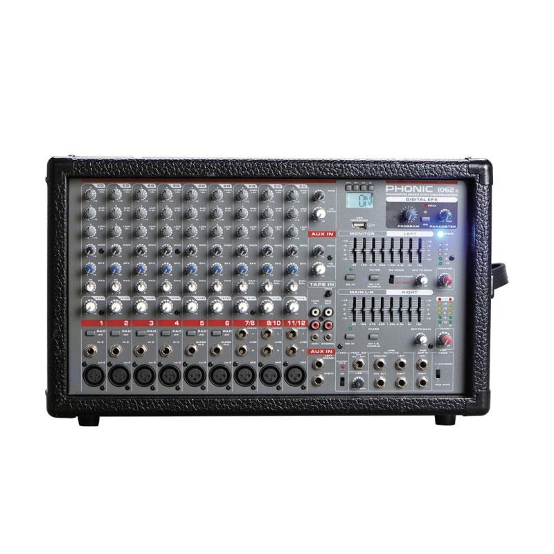 มิกเซอร์ PHONIC POWERPOD 1062R Powered Mixer