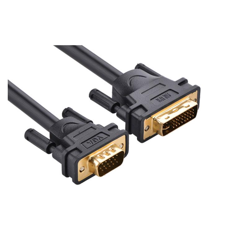 สายแปลง Ugreen DVI(24+5) male to VGA male Cable