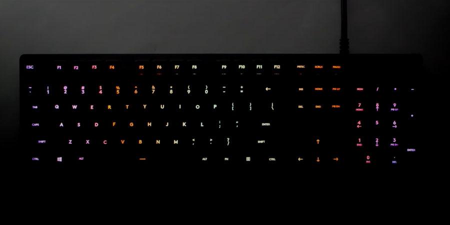 คีย์บอร์ด Logitech G512 RGB Mechanical Keyboard สเปค